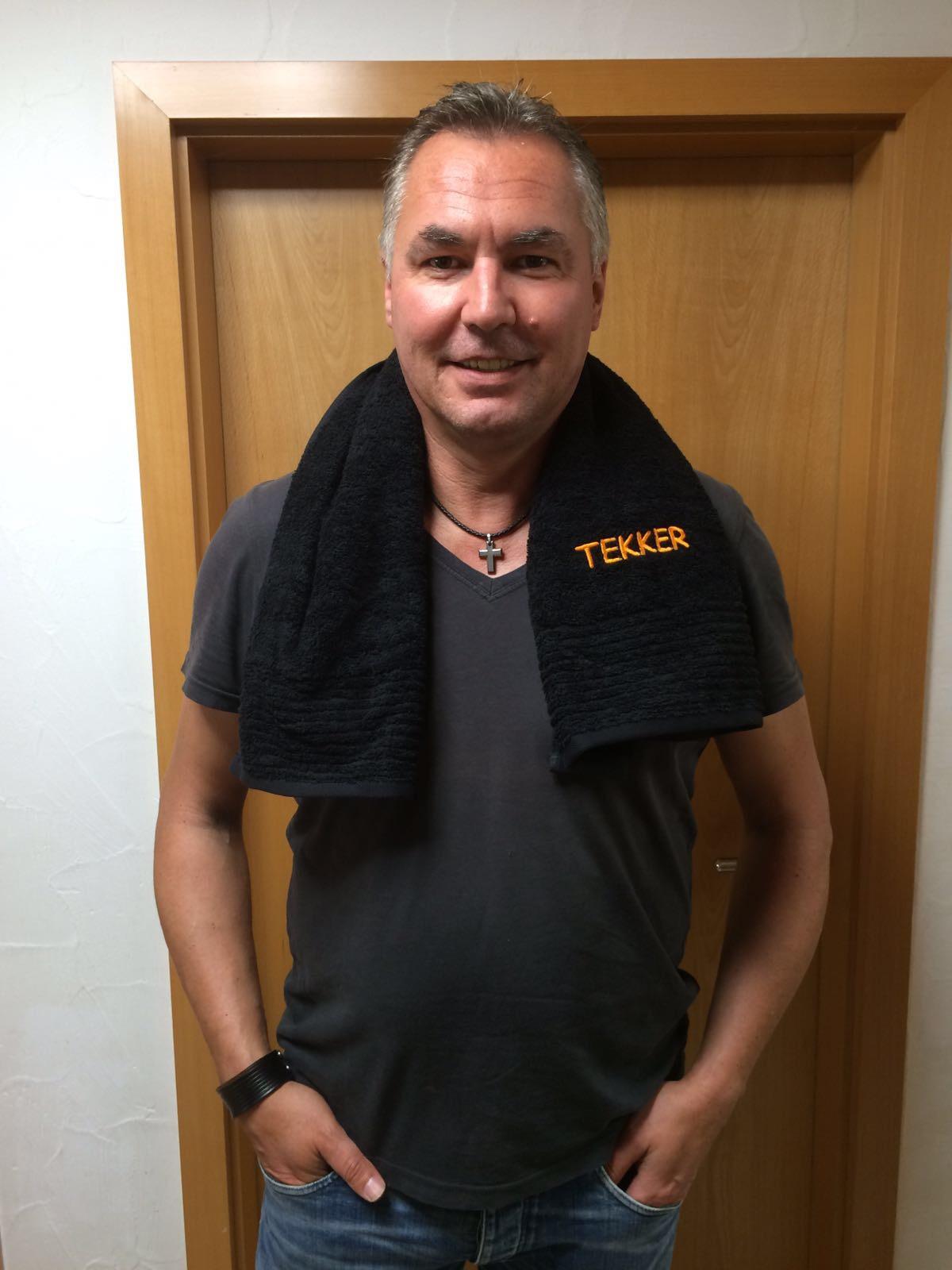 Wolle mit TEKKER Handtuch