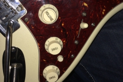 Alex's Gitarre Nahaufnahme